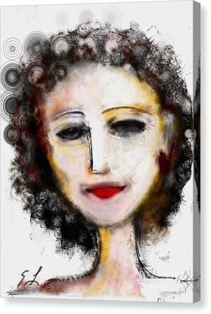 Carmine Canvas Print