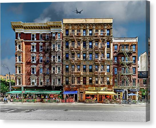Canvas Print featuring the photograph Carmine Street by Chris Lord