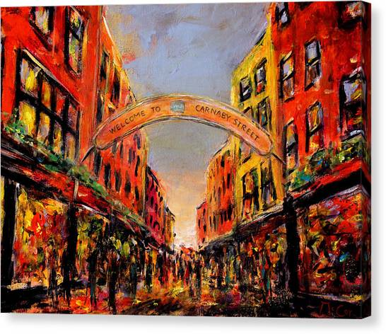 Carnaby Street London Canvas Print
