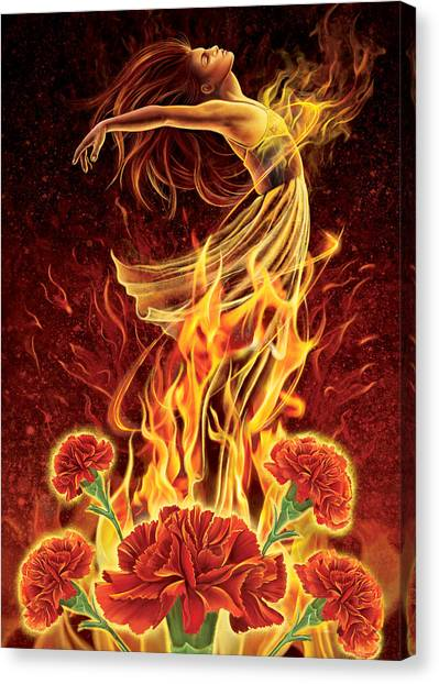 Carnation - Rebirth Canvas Print