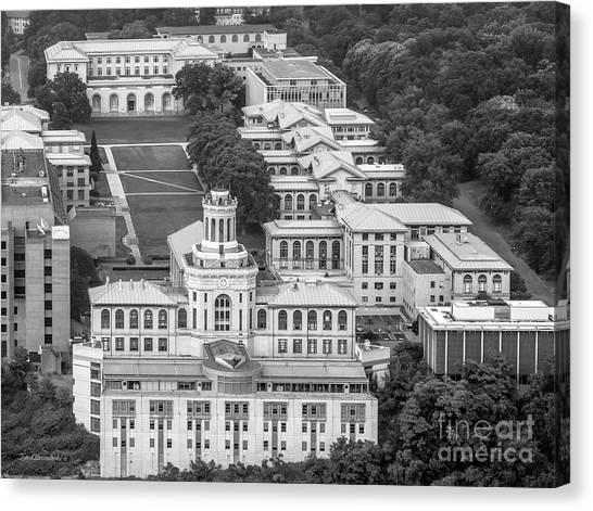 Carnegie Mellon University Canvas Print - Carnegie Mellon University Campus by University Icons