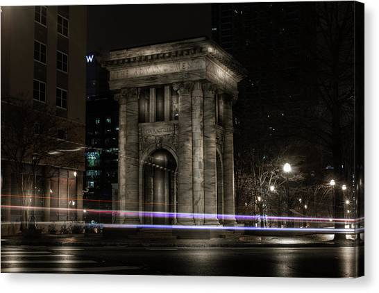 Carnegie Monument Canvas Print
