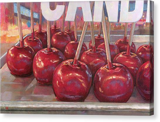 Carnival Apples Canvas Print