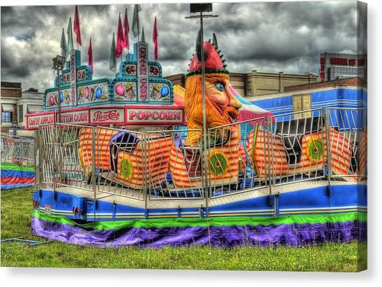 Carnival At Crocker Park Canvas Print by Neil Doren
