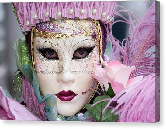 Carnival In Pink Canvas Print