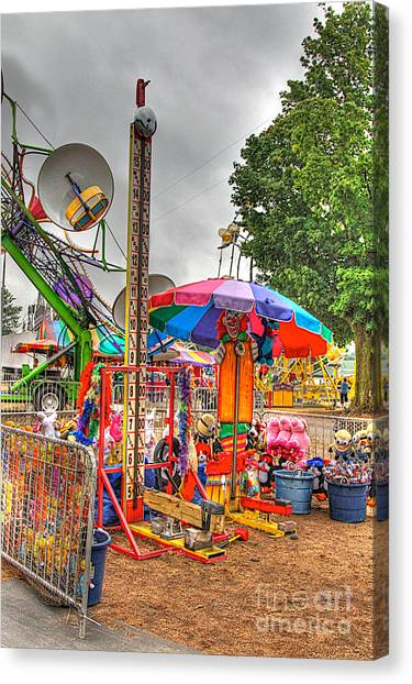 Carnival Life 2 Canvas Print by Robert Pearson