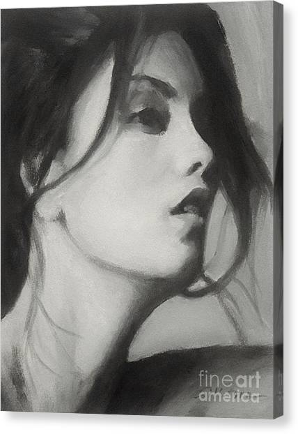 Carol Canvas Print by Robert Tillotson