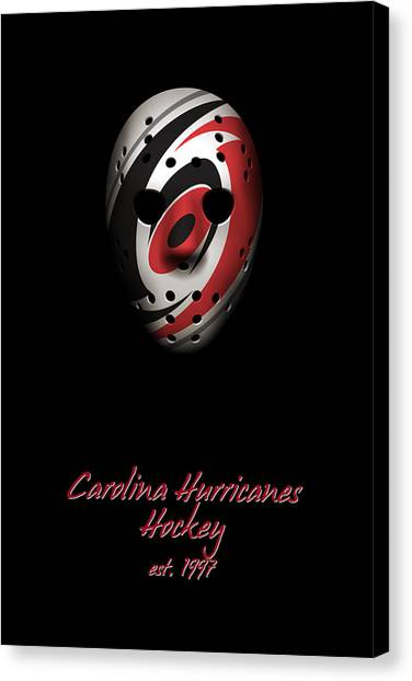 Carolina Hurricanes Canvas Print - Carolina Hurricanes Established by Joe Hamilton