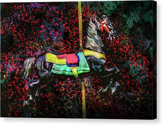 Carousel Number 16 Canvas Print