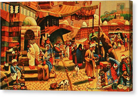 Carpet 2 Canvas Print by Chaza Abou El Khair