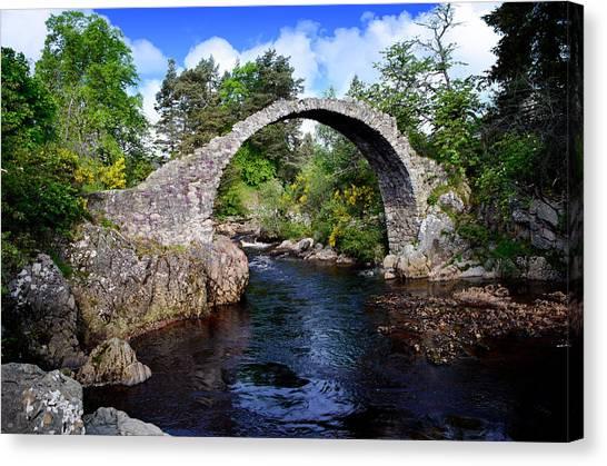 Carr Bridge Scotland Canvas Print