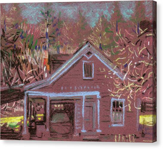 Carriage House Canvas Print by Donald Maier