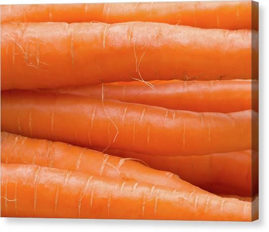 Carrot Canvas Print - Carrots by Wim Lanclus