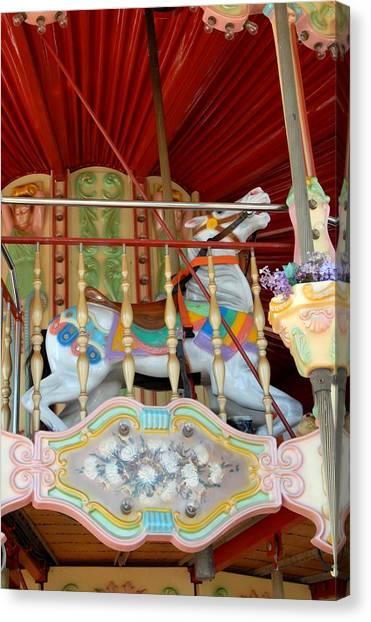 Carrousel 50 Canvas Print by Joyce StJames