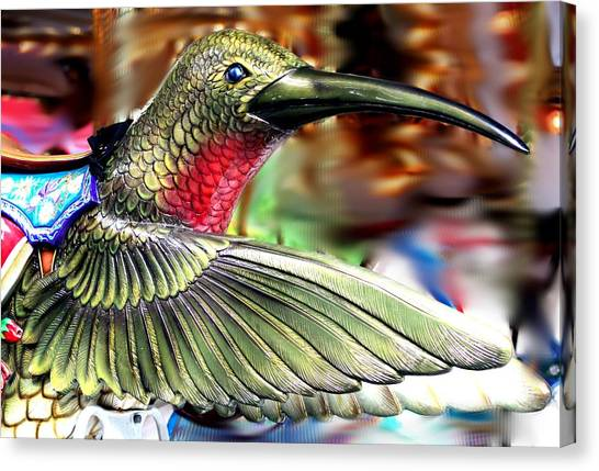 Carrousel Hummingbird Canvas Print