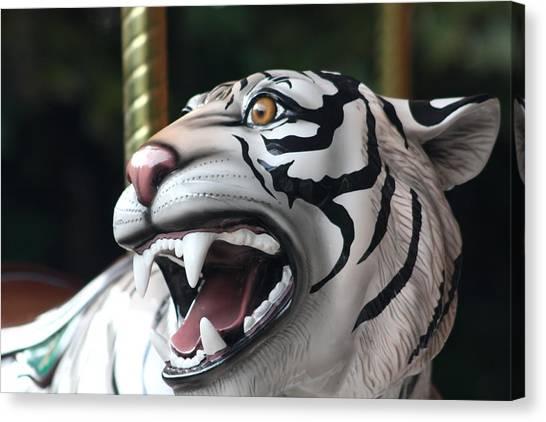 Carrousel Tiger Canvas Print