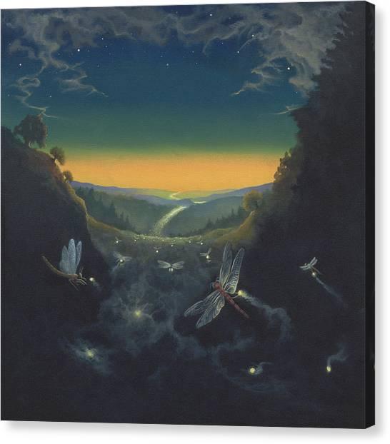 Carry The Light 1 Canvas Print by Boris Koodrin