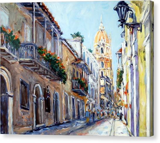 Cartagena Colombia Canvas Print