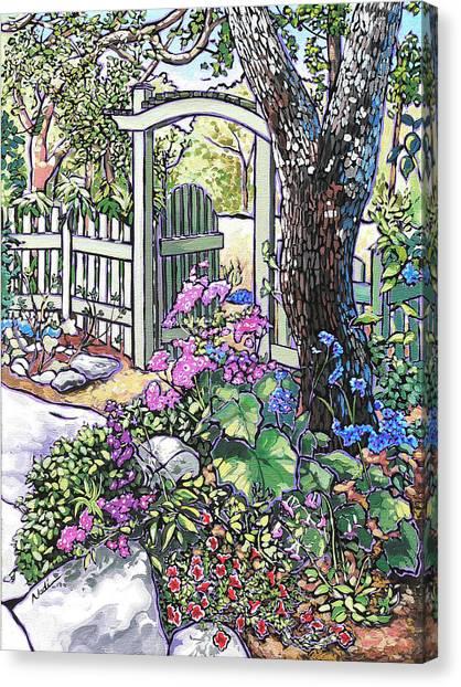 Carter Garden Canvas Print