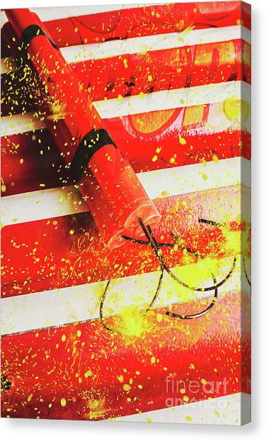 Bombs Canvas Print - Cartoon Bomb by Jorgo Photography - Wall Art Gallery