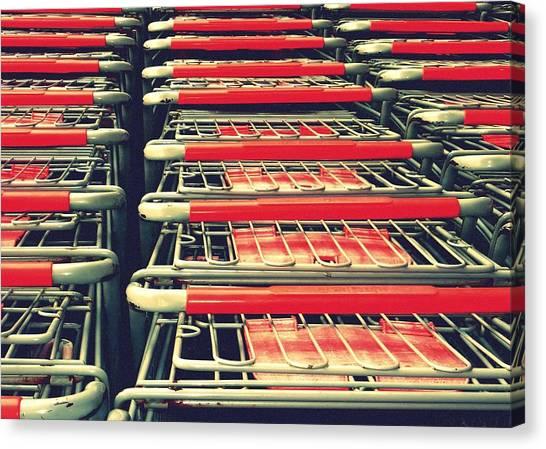 Carts Canvas Print