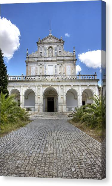 Cartuxa Convent Canvas Print by Andre Goncalves