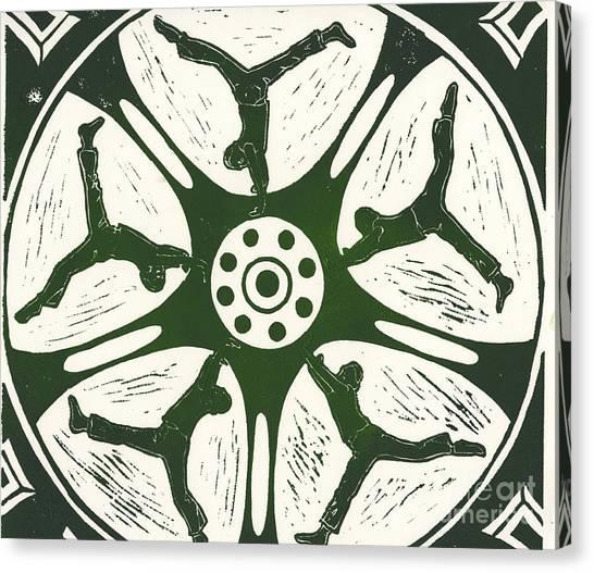 Joni Mitchell Canvas Print - Cartwheels Turn To Carwheels- 2 by Kayla Race