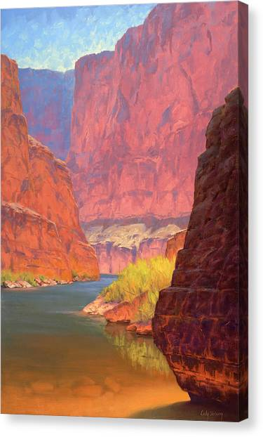Red Rock Canvas Print - Carving Castles by Cody DeLong