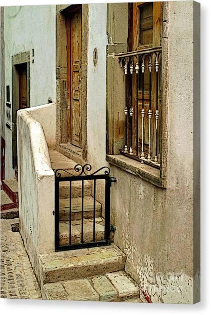 Casa De Crema Canvas Print by Mexicolors Art Photography