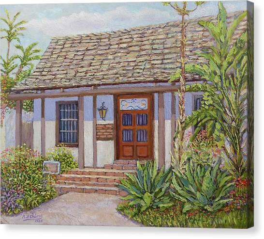 Casa De Miguel Pedrorena Canvas Print by Miguel A Chavez