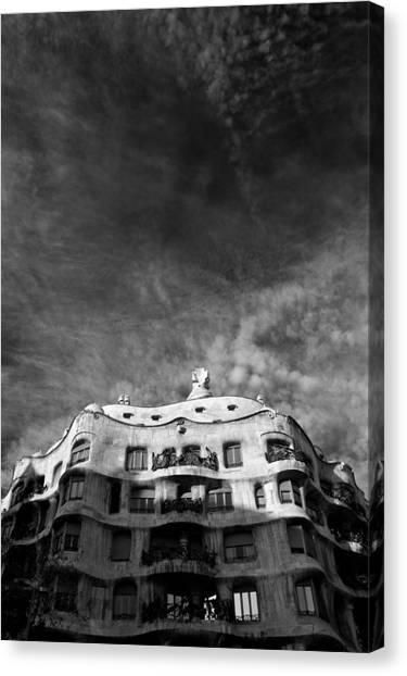 Casa Mila Canvas Print