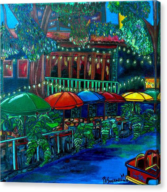 Casa Rio Canvas Print by Patti Schermerhorn