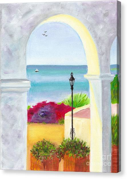 Casa Romantica View Canvas Print