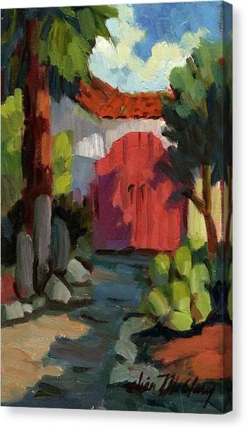 Casa Tecate Gate Canvas Print