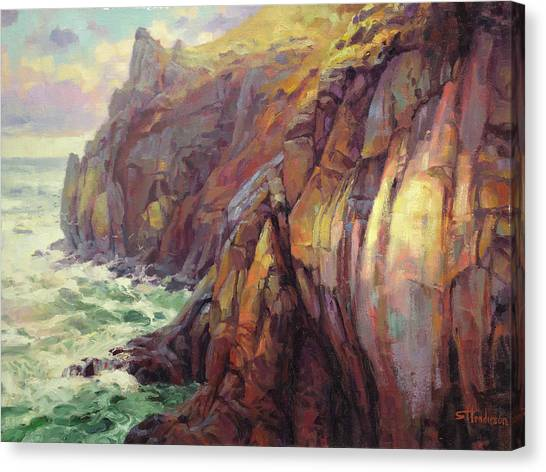 Pacific Coast Canvas Print - Cascade Head by Steve Henderson