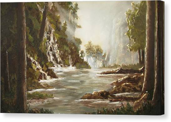 cascade I Canvas Print