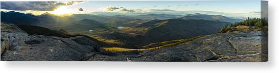 Cascade Mountain Sunset Canvas Print