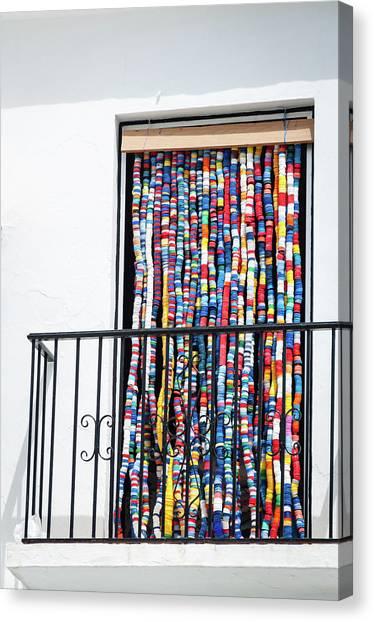 Cascade Of Colour Canvas Print