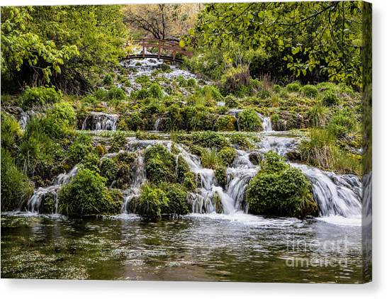 Cascade Springs Utah Canvas Print