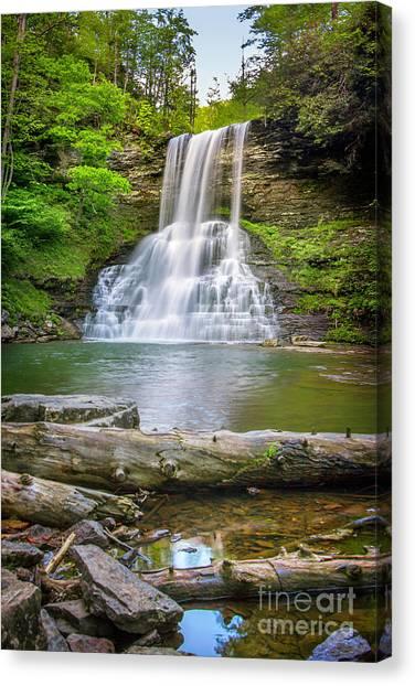 Cascades Falls Giles County Canvas Print
