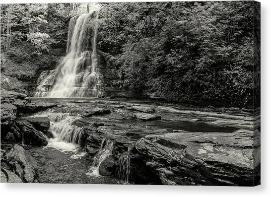 Cascades Waterfall Canvas Print