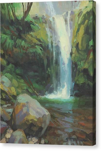 Countryside Canvas Print - Cascadia by Steve Henderson