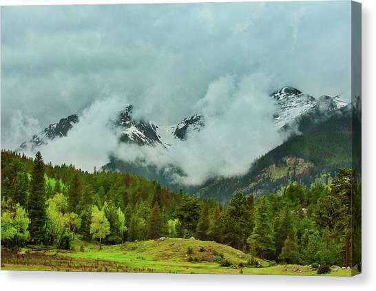 Cascading Storm Clouds Canvas Print