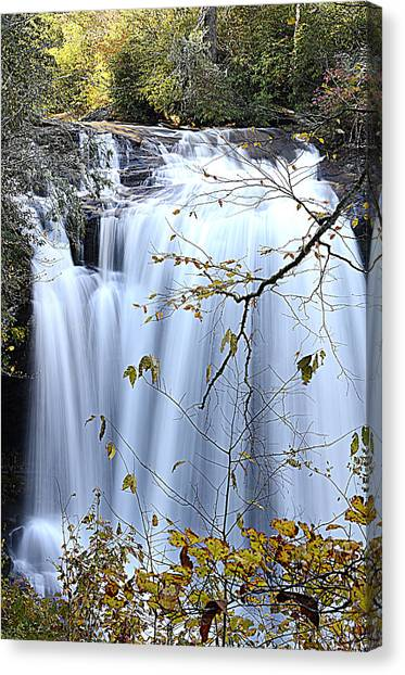 Cascading Water Fall Canvas Print