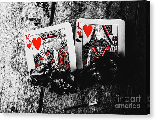 Playing Canvas Print - Casino Hot Streak  by Jorgo Photography - Wall Art Gallery
