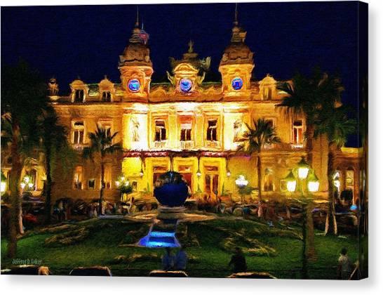 Casino Monte Carlo Canvas Print