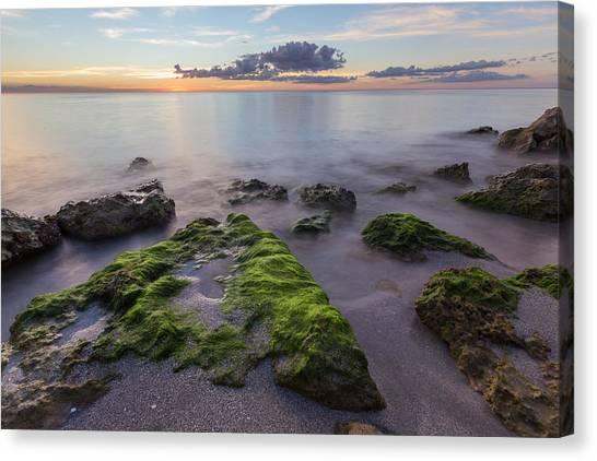 Caspersen Beach Sunset Canvas Print