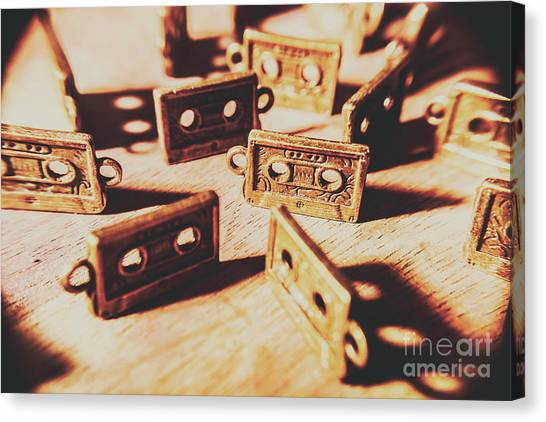 80s Canvas Print - Cassette Club Dance by Jorgo Photography - Wall Art Gallery