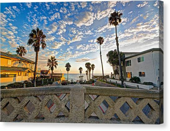 Canvas Print - Cassidy Street Bridge by Ann Patterson