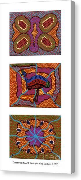 Cassowary - Food - Nest Canvas Print